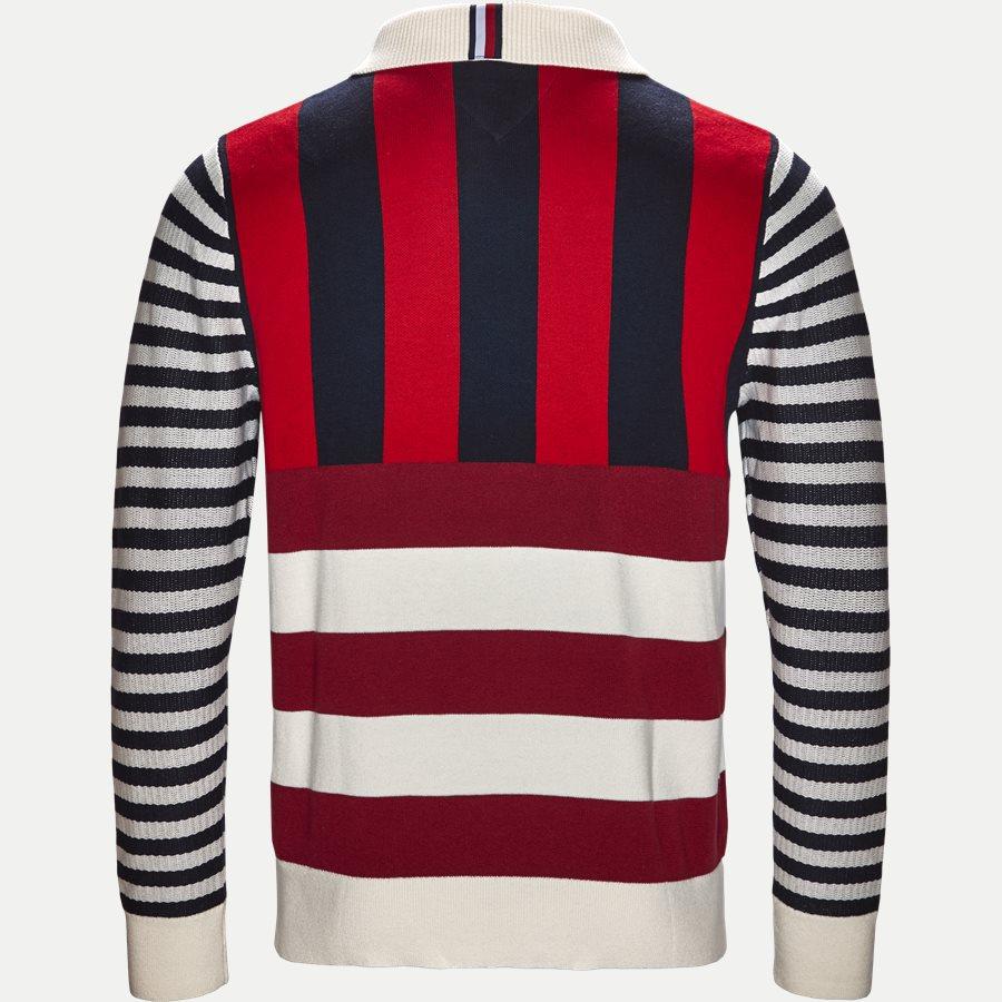 STRIPE KNITTED RELAX - Stripe Knitted Relax Strik - Strik - Regular - NAVY - 2