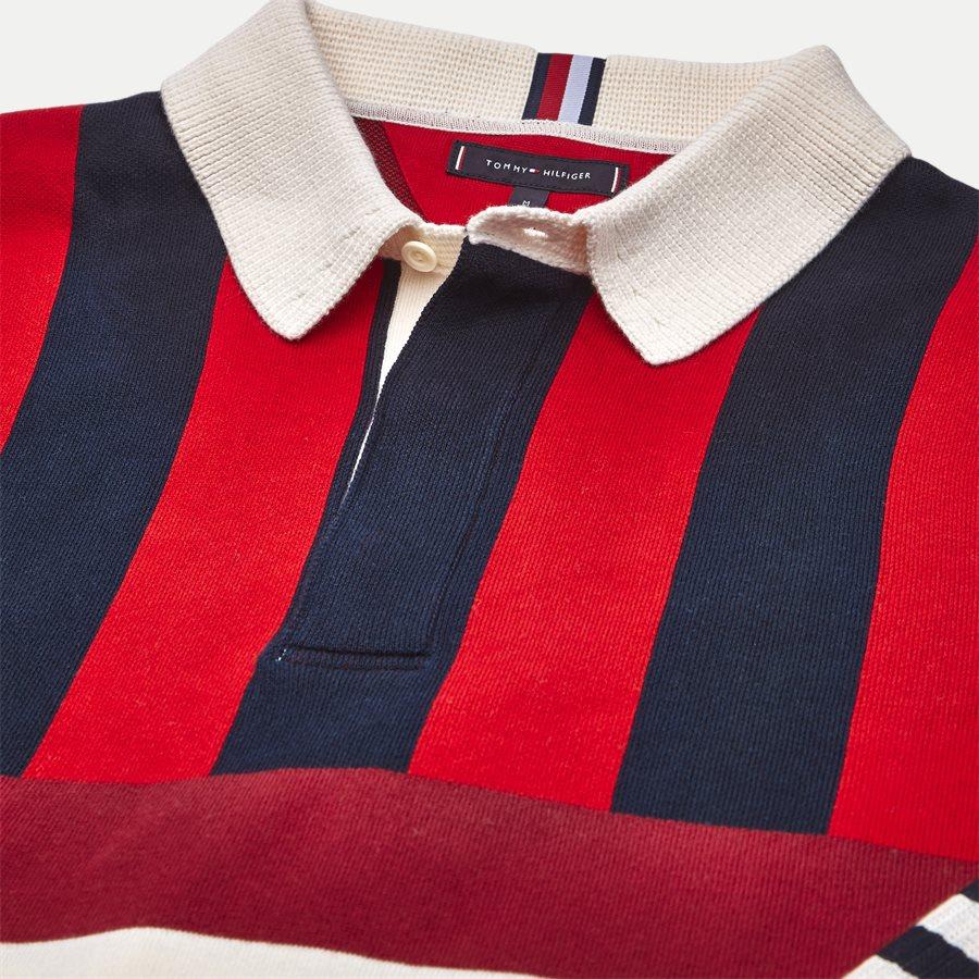 STRIPE KNITTED RELAX - Stripe Knitted Relax Strik - Strik - Regular - NAVY - 3