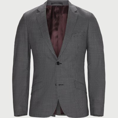 Slim fit | Blazer | Svart