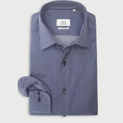 4967 Skjorte Modern fit   4967 Skjorte   Blå