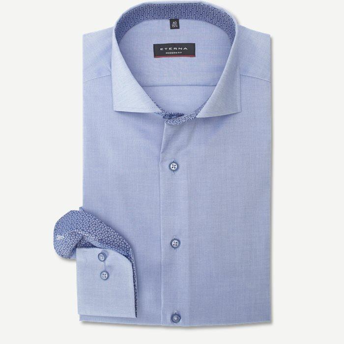 8102 Skjorte - Skjorter - Modern fit - Blå