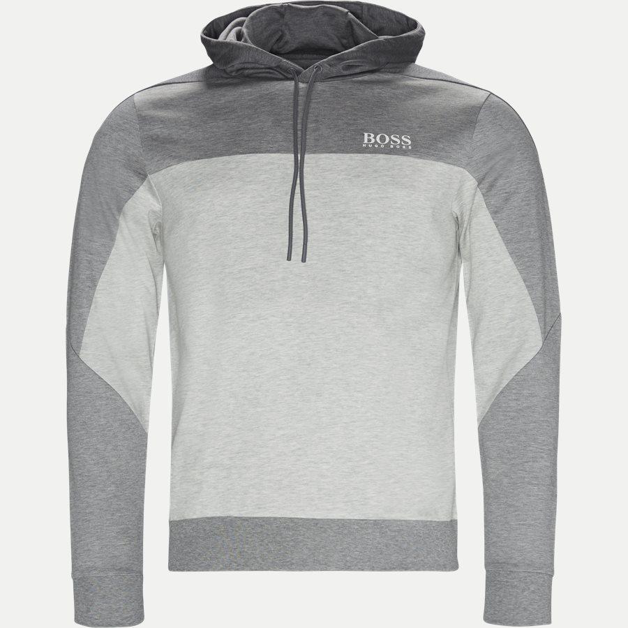 50399318 SOULTECH - Soultech Hoodie Sweatshirt - Sweatshirts - Slim - GRÅ - 1