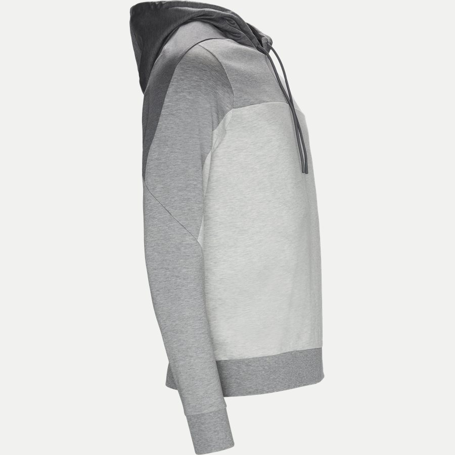 50399318 SOULTECH - Soultech Hoodie Sweatshirt - Sweatshirts - Slim - GRÅ - 4