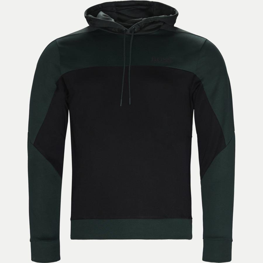 50399318 SOULTECH - Soultech Hoodie Sweatshirt - Sweatshirts - Slim - GRØN - 1