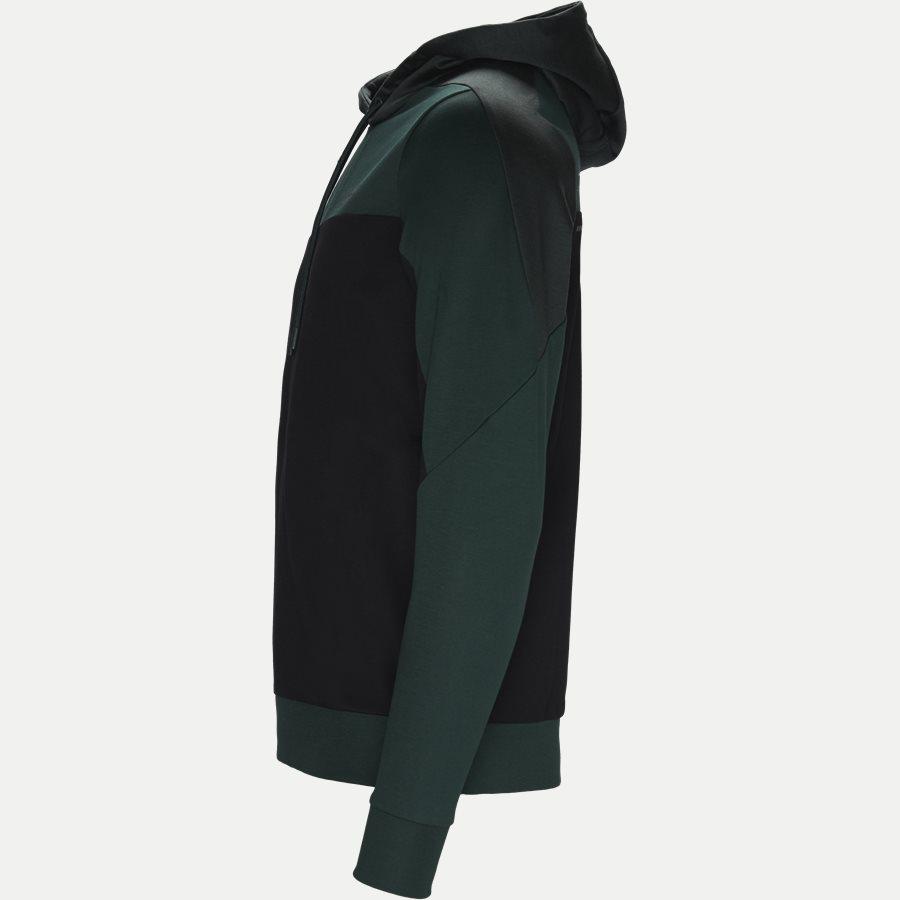 50399318 SOULTECH - Soultech Hoodie Sweatshirt - Sweatshirts - Slim - GRØN - 3
