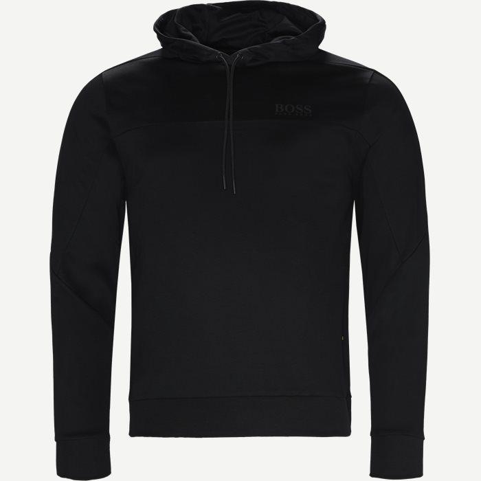 Soultech Hoodie Sweatshirt - Sweatshirts - Slim - Sort