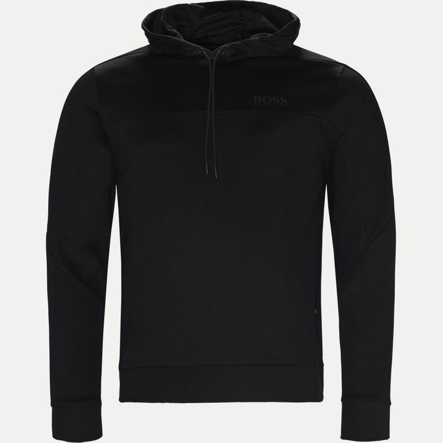 50399318 SOULTECH - Soultech Hoodie Sweatshirt - Sweatshirts - Slim - SORT - 1
