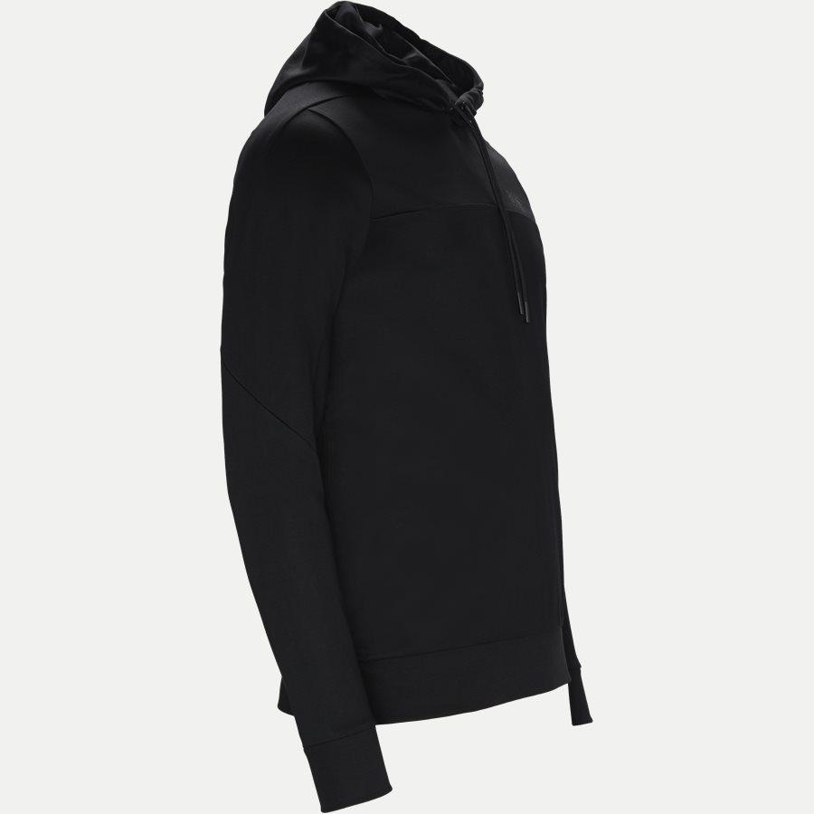 50399318 SOULTECH - Soultech Hoodie Sweatshirt - Sweatshirts - Slim - SORT - 4