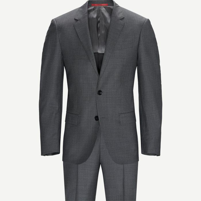 Anzüge - Slim - Grau
