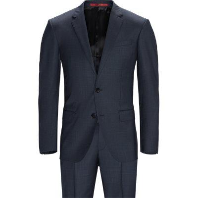 Slim   Anzüge   Blau