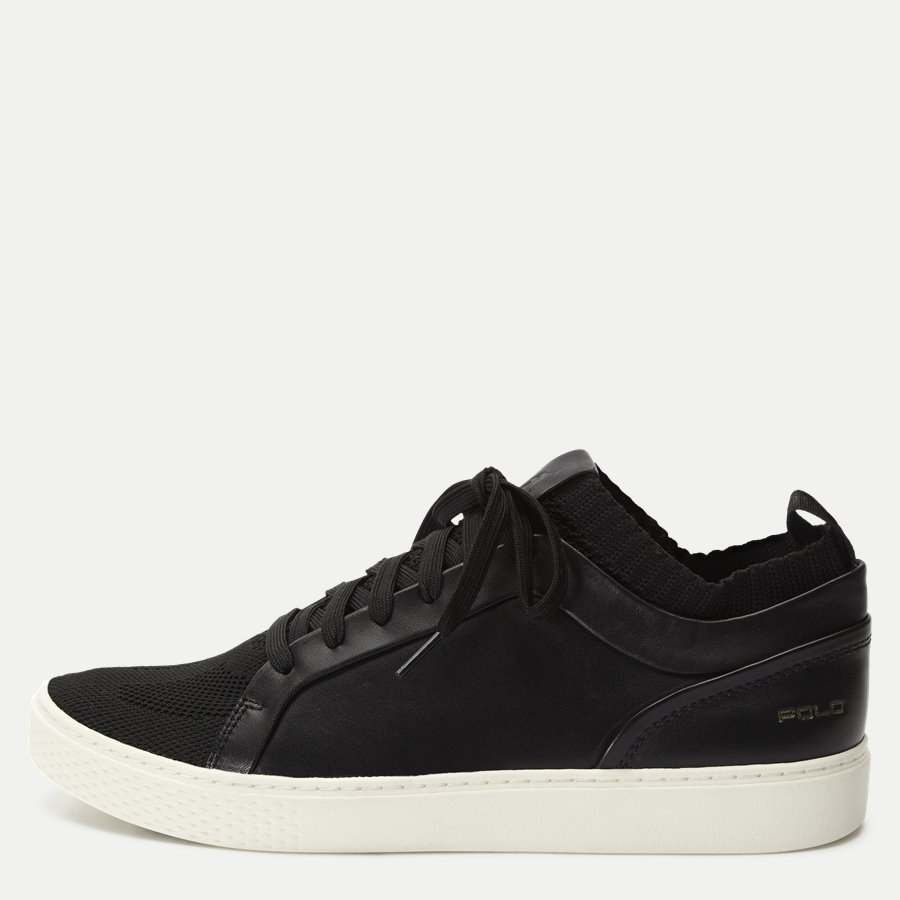 809712538 - Court Sneaker - Sko - SORT - 1