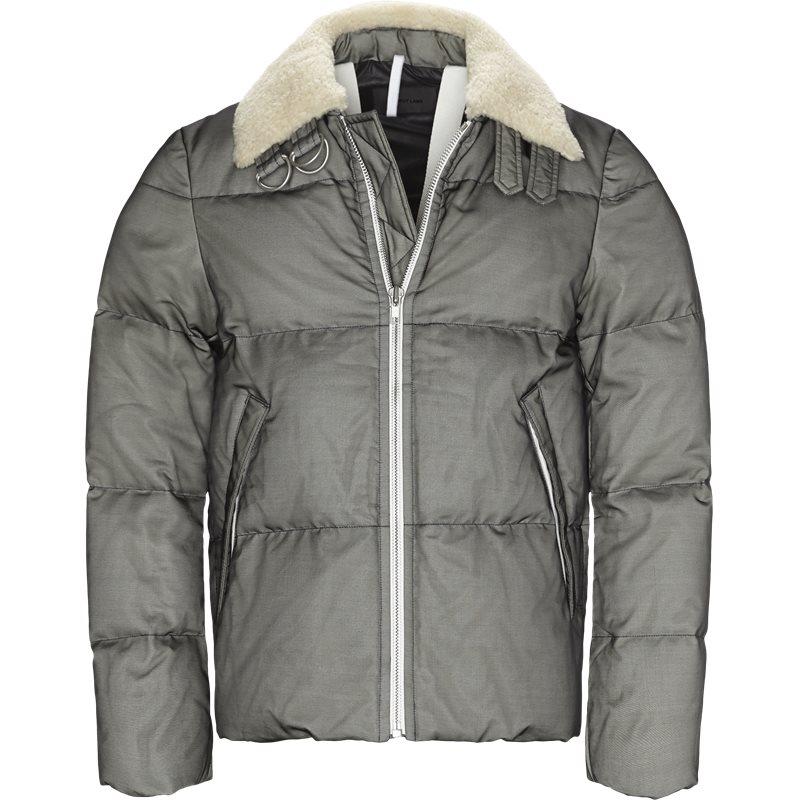 Helmut lang oversized i07 hm407 jakker black fra helmut lang på axel.dk
