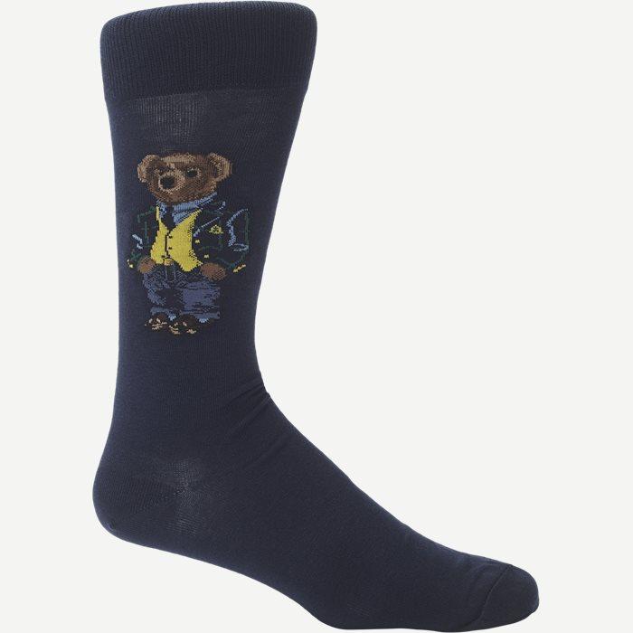 Bear Socks - Strømper - Blå