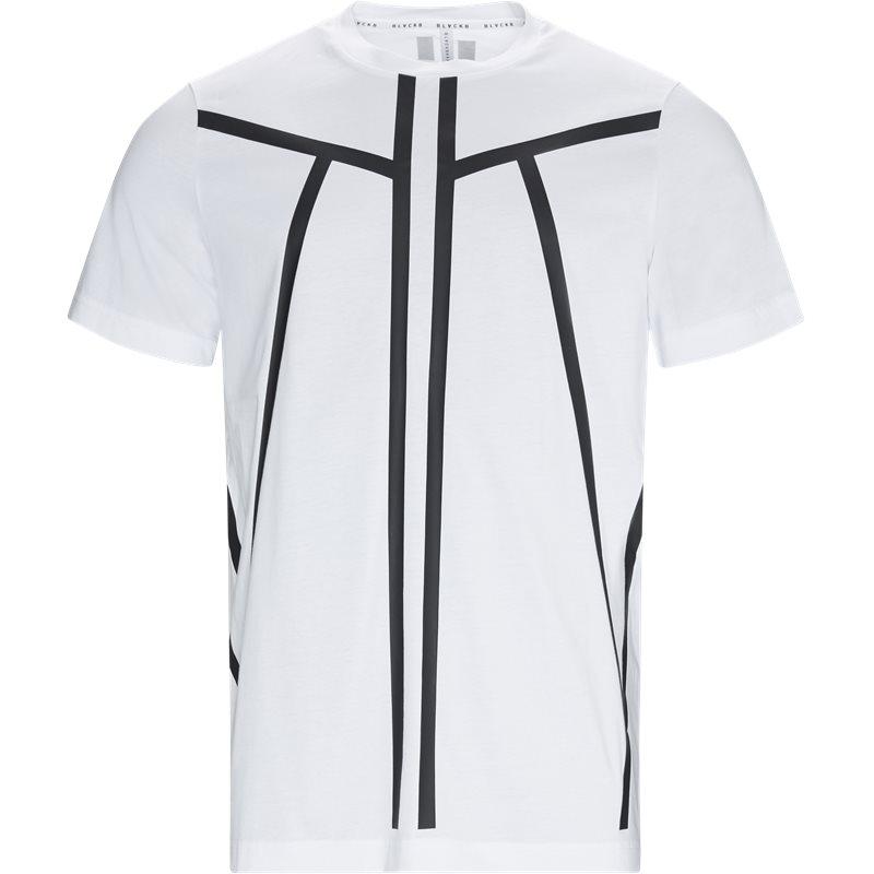 Blackbarrett regular fit pxjt178 - 1ax t-shirts hvid fra blackbarrett på axel.dk