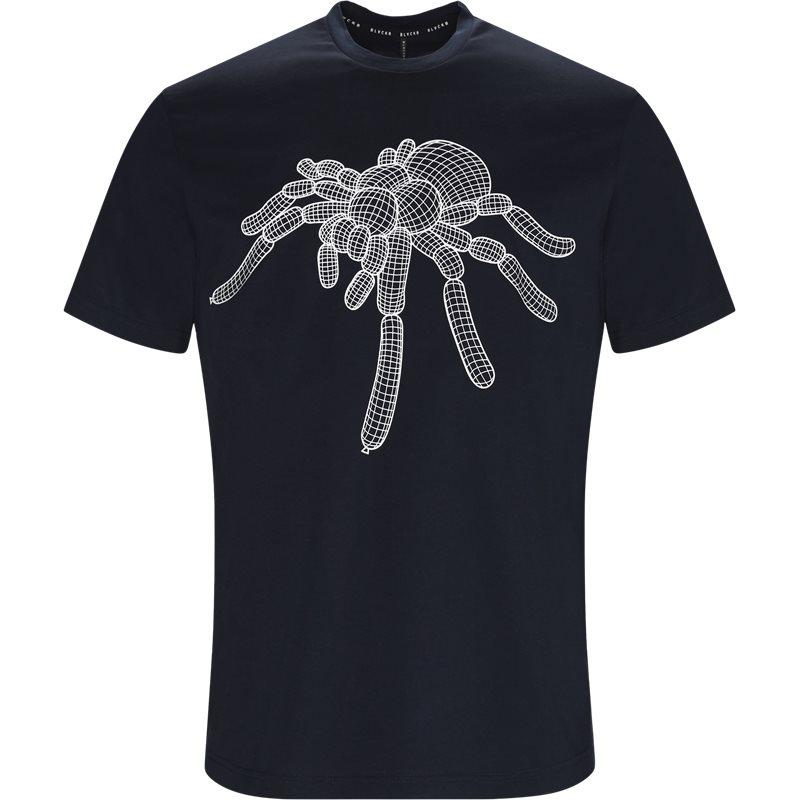 blackbarrett – Blackbarrett pxjt212 - 1ax t-shirts navy/hvid på axel.dk