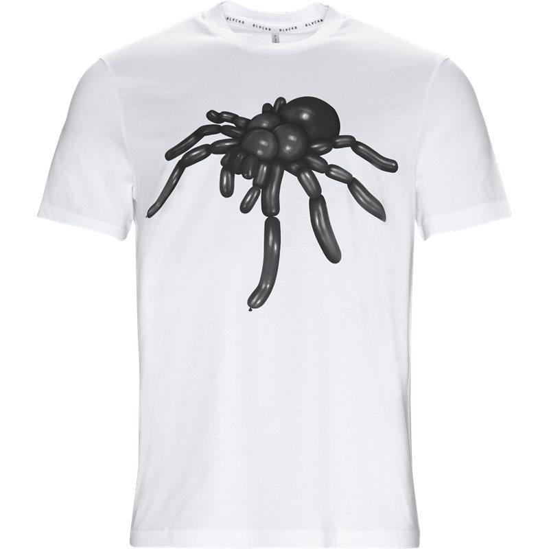 blackbarrett Blackbarrett t-shirt hvid/sort fra axel.dk