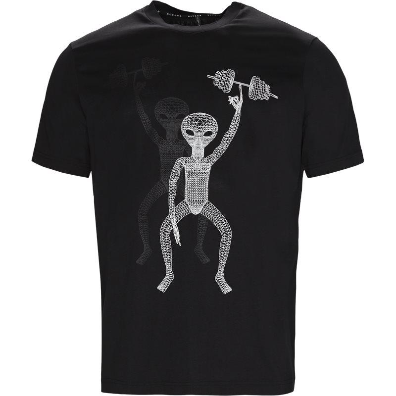 blackbarrett – Blackbarrett t-shirt sort/hvid på axel.dk
