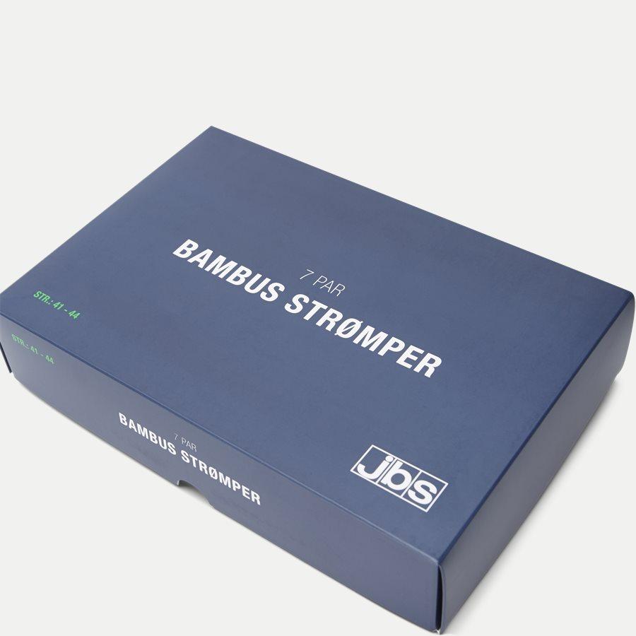 BAMBOO BOX - Bambus Strømper 7-Pack - Strømper - Regular - NAVY/SORT - 10