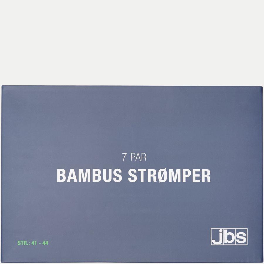 BAMBOO BOX - Bambus Strømper 7-Pack - Strømper - Regular - NAVY/SORT - 11