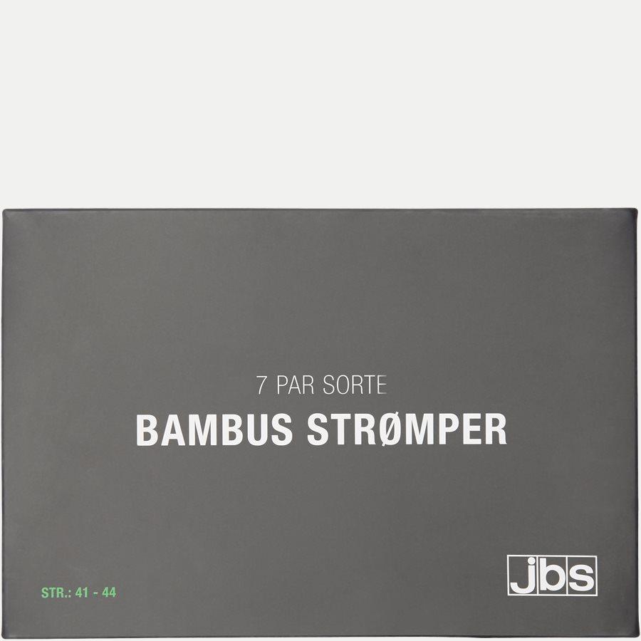 BAMBOO BOX - Bambus Strømper 7-Pack - Strømper - Regular - SORT - 4