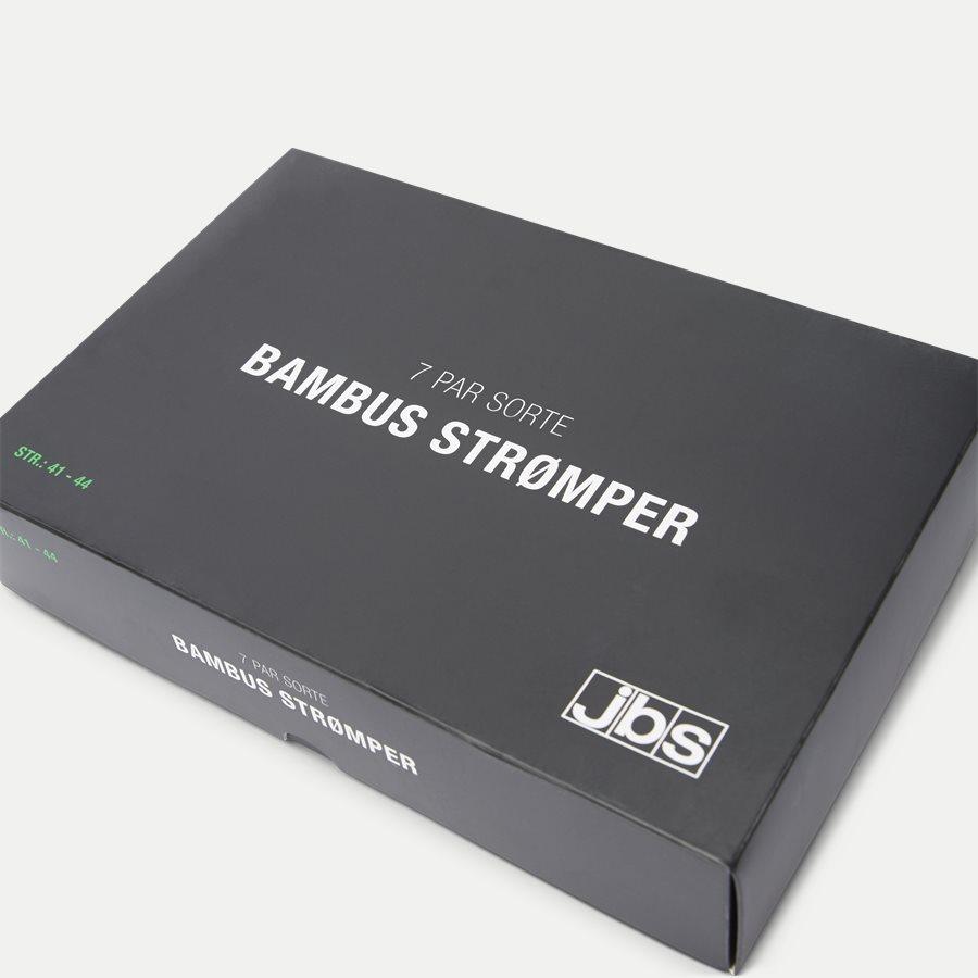 BAMBOO BOX - Bambus Strømper 7-Pack - Strømper - Regular - SORT - 5