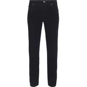 Micro Cord Jeans Regular   Micro Cord Jeans   Blå