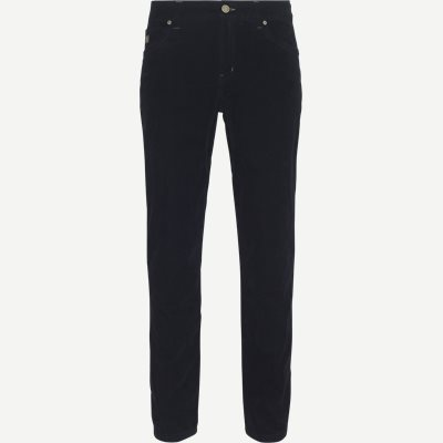 Micro Cord Jeans Regular | Micro Cord Jeans | Blå