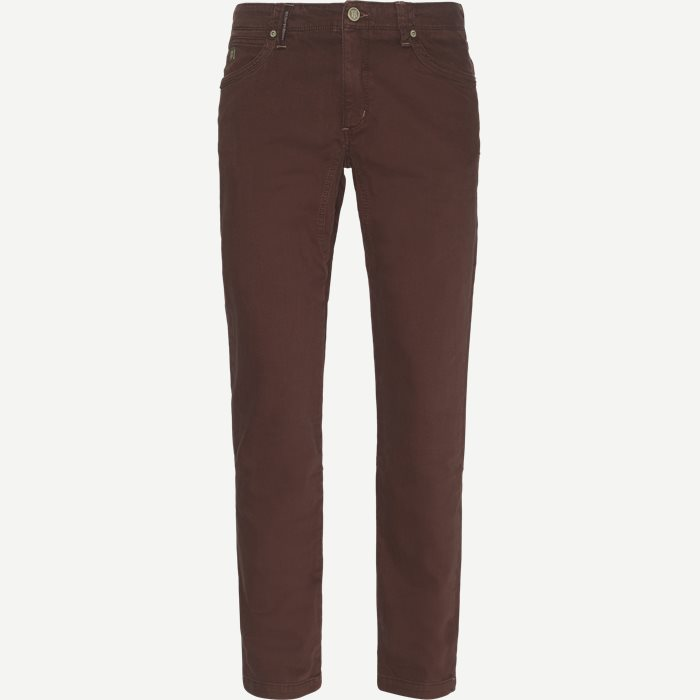 Jeans - Regular - Bordeaux