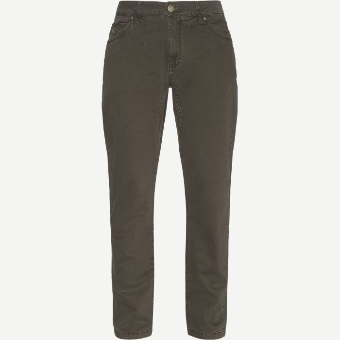 Jeans - Regular - Braun
