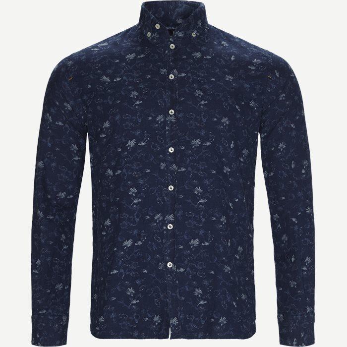 Skjortor - Casual fit - Blå