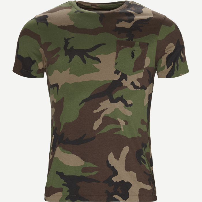 Camo T-shirt - T-shirts - Regular - Army