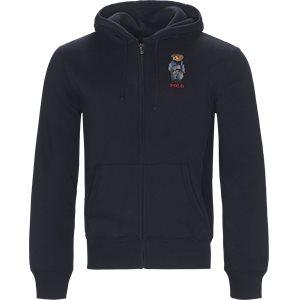 Bear Full Zip Hoodie Sweatshirt Regular | Bear Full Zip Hoodie Sweatshirt | Blå