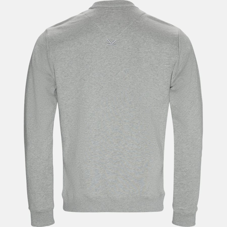 F955SW0004MD - Sweatshirts - Regular slim fit - GRÅ - 2