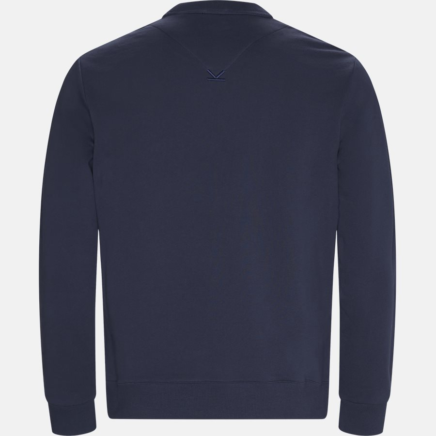 F955SW0004MD N - sweat  - Sweatshirts - Regular fit - NAVY - 2