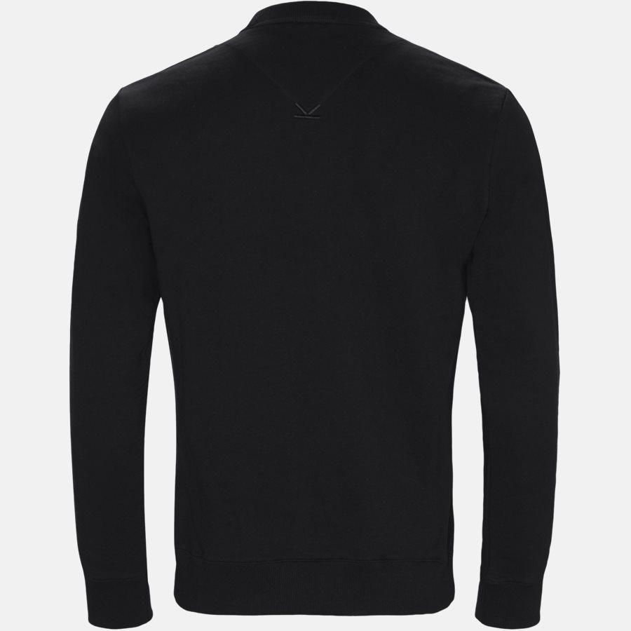 F955SW0004MD N - sweat  - Sweatshirts - Regular fit - SORT - 2