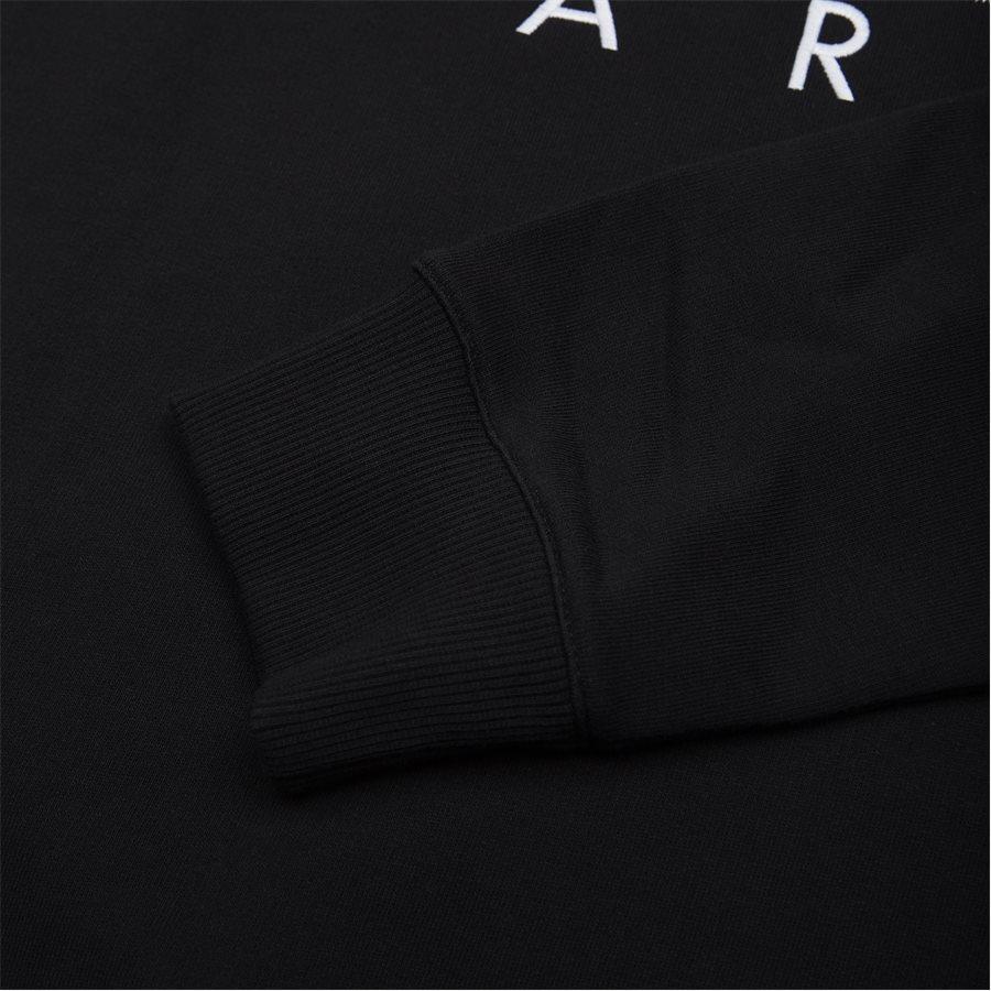 F955SW0004MD N - sweat  - Sweatshirts - Regular fit - SORT - 3