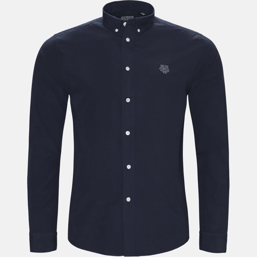 F955CH400LA - Skjorter - Casual fit - NAVY - 1