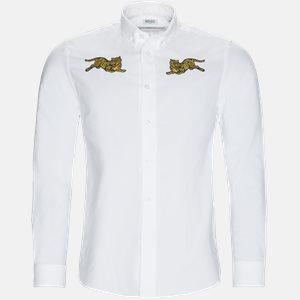 Regular slim fit | Skjorter | Hvid