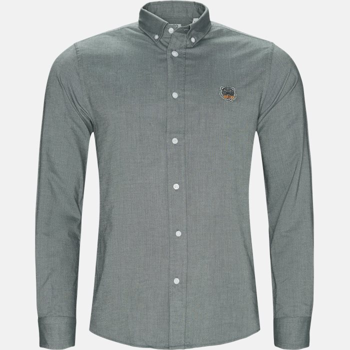 Shirts - Casual fit - Green
