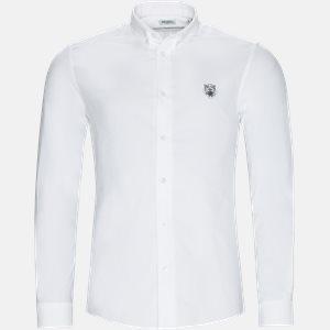 Casual fit | Skjorter | Hvid