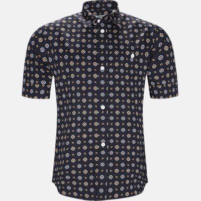 Slim | Kortærmede skjorter | Blå