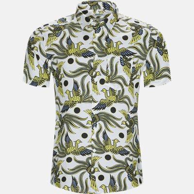 Short-sleeved shirts | White