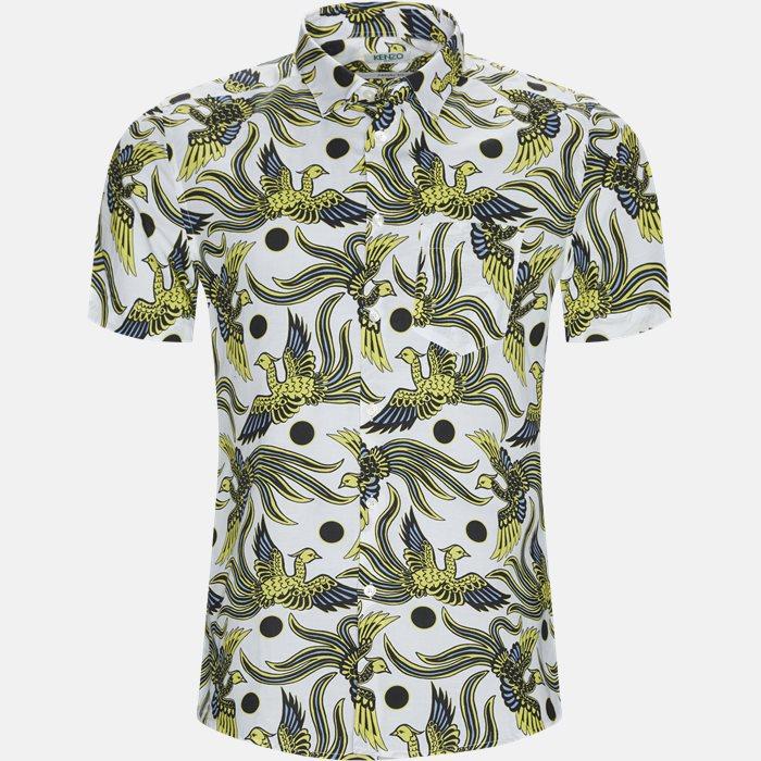 Kortærmede skjorter - Hvid