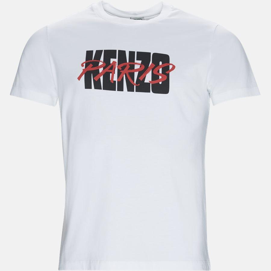 F955TSO184SA - T-shirt  - T-shirts - Slim - HVID - 1