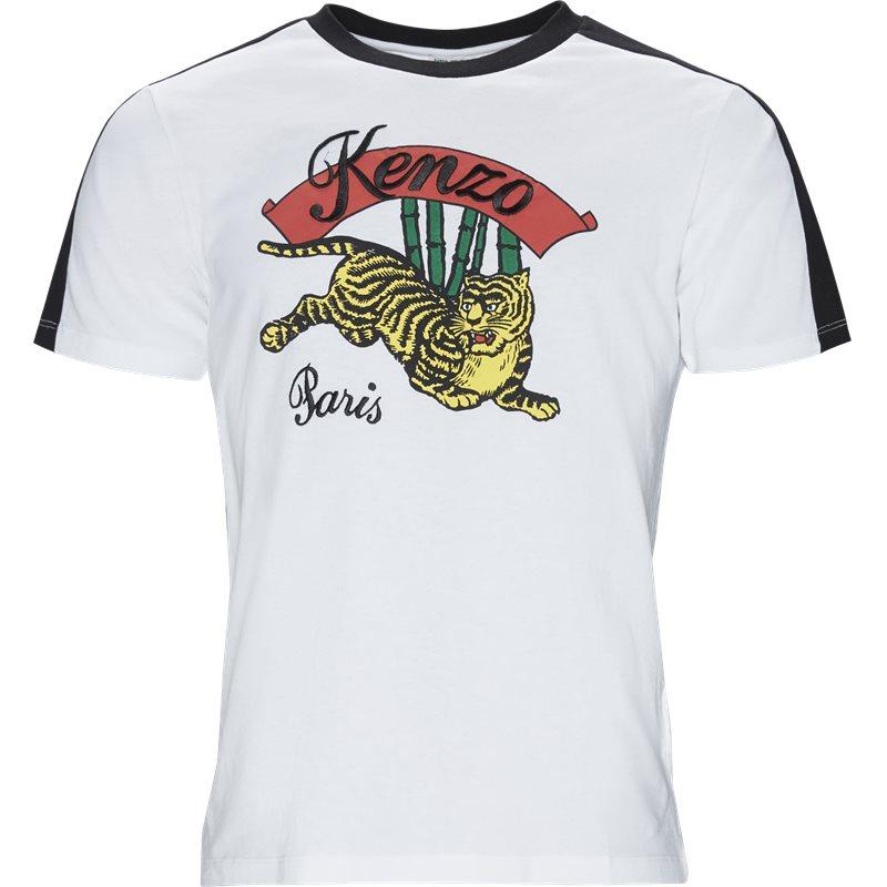 Billede af Kenzo Regular fit F955TSO194CE T-shirts Hvid