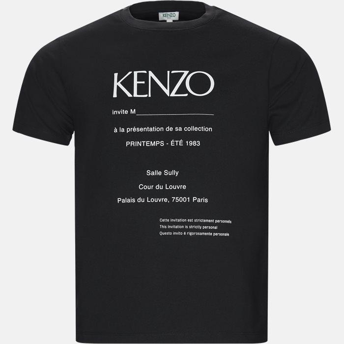 T-shirts - Regular fit - Sort