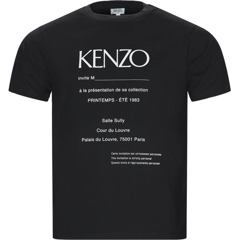 Billede af Kenzo Regular fit F955TSO184CB T-shirts Sort