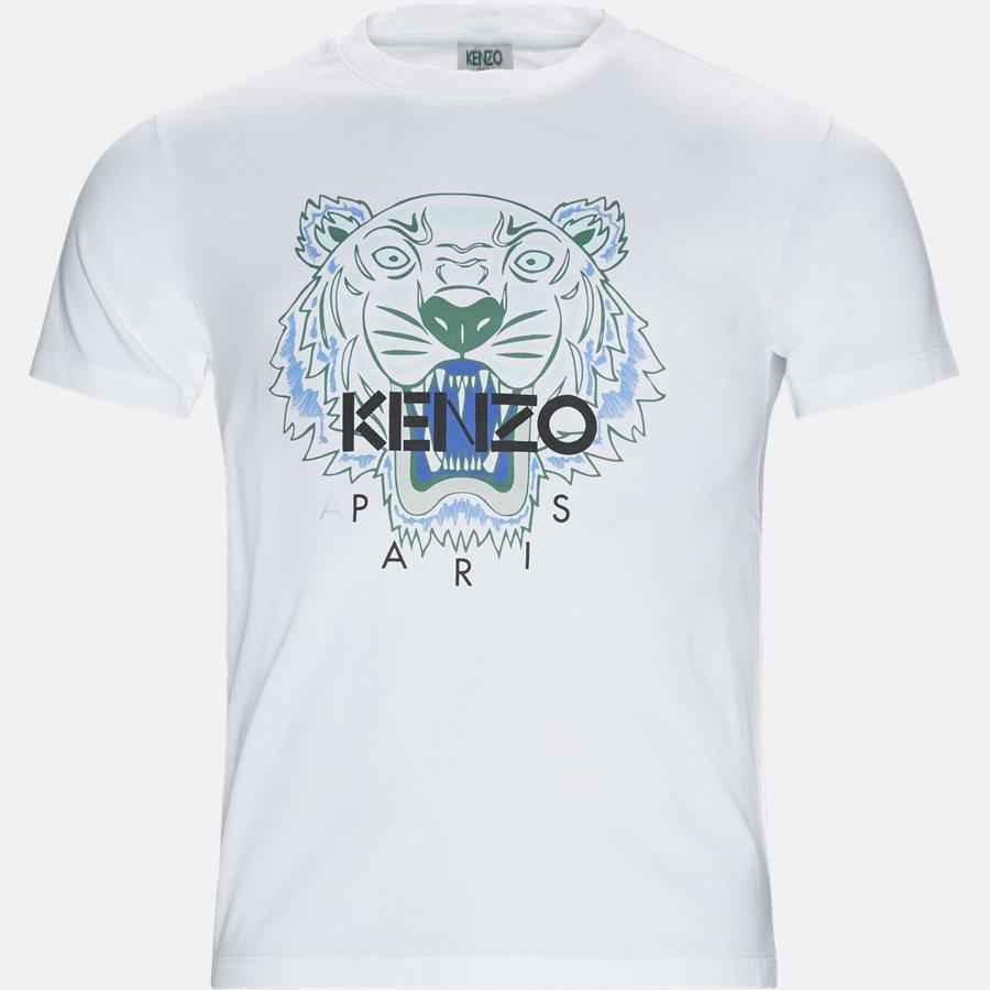 F955TSO504YA - t-shirt - T-shirts - Slim - HVID - 1