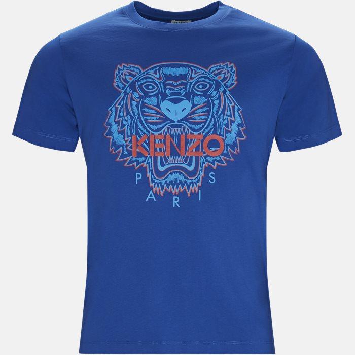 T-shirt - T-shirts - Slim - Blå