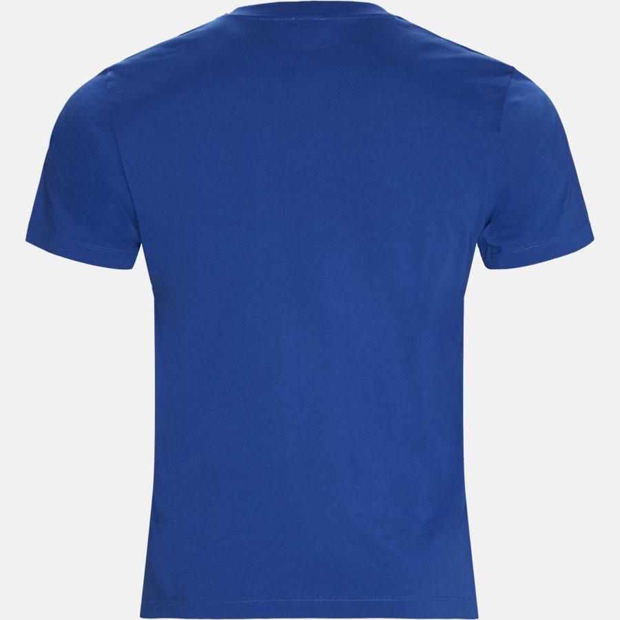 F955TSO354YE - T-shirt - T-shirts - Slim - BLÅ - 2